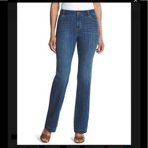 Gorgeous Chico's The Platinum Trouser Jean ❣️